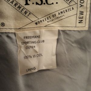 Freeman's Sporting Club Suits & Blazers - FREEMANS SPORTING CLUB Brown Tweed Mens Sz XL Vest